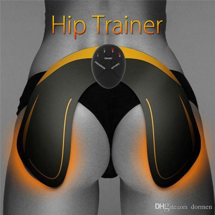 Electric Hip Muscle Trainer Buttock Lift Bum Push Up Stimulator EMS Massager UK