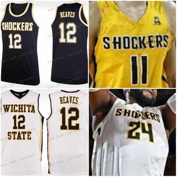 2021 Custom Wichita State Shockers College Basketball Jersey Any ...