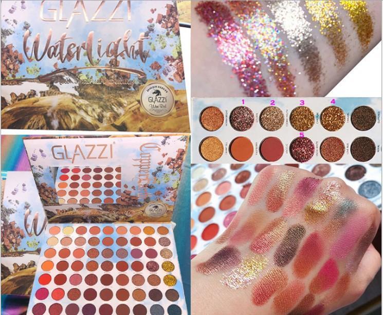 (63) لوحة ألوان من طراز eyeshadow super fire pearlescent matte makeup artist special fairy disck eyeshadow eyeshadow