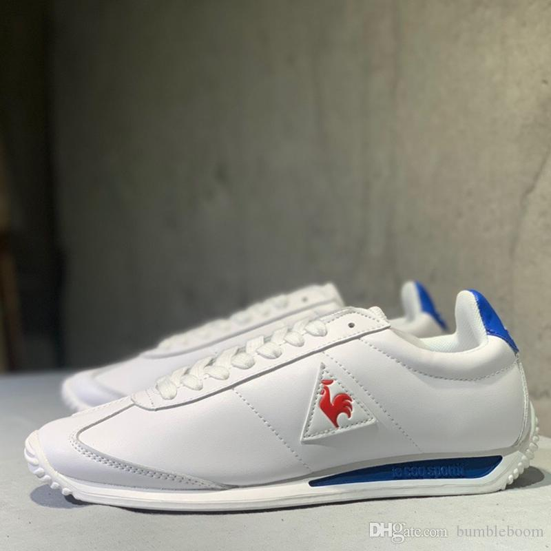 2020 France Le Coq Sportif Luxury Trainer Casual Shoes Leisure Men Sneakers Breathable Patchwork Flats Trendy Chaussures De Sport Fitness Suede From