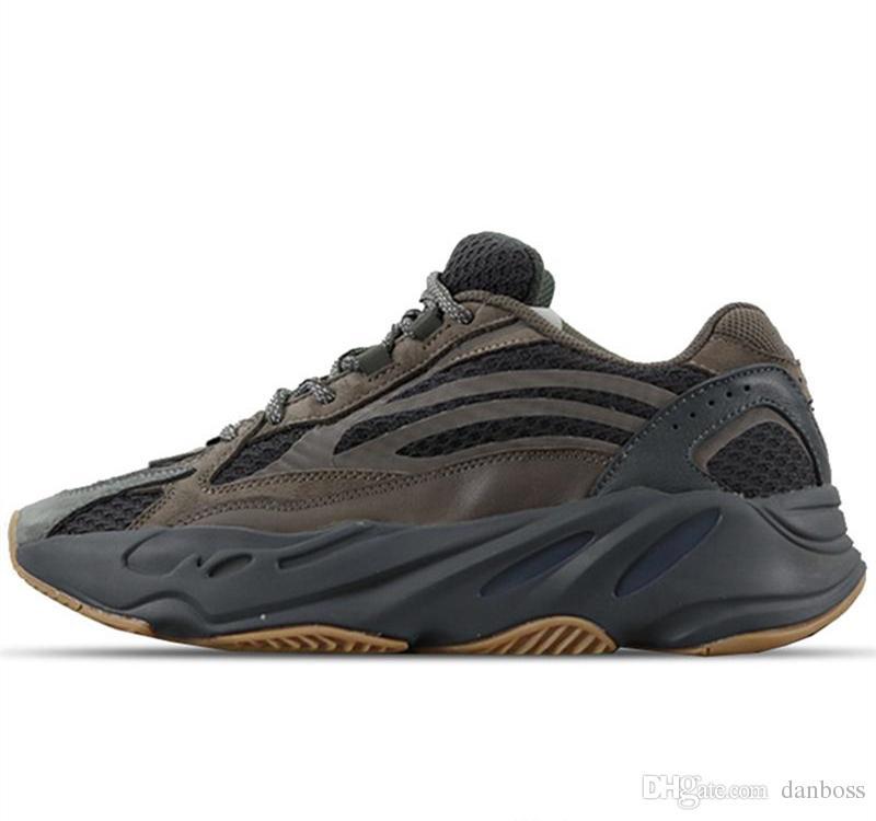 2018 Nouvelle Remise Wave Runner 700 mauve Classique Chaussures De Course Kanye West V2 Chaussures De Sport Statiques De Mode Sneaker