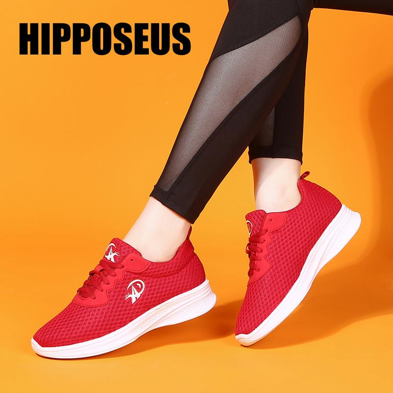 Sneaker Mesh Dance Shoes Modern Jazz for Women Soft Sole Breathable Sports Casual Dancing Practice Shoes Lightweight Fitness