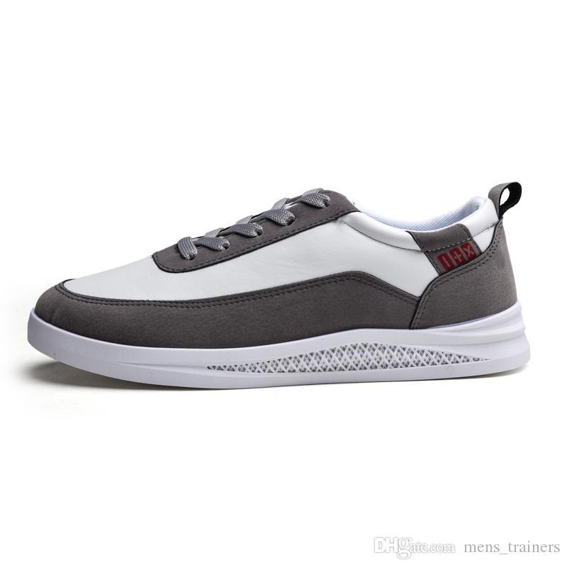 donne superiori degli uomini nuovi scarpe Trainer scarpe da ginnastica di moda scarpe casuali classici appartamenti sportivi in pelle 2020 Outdoor formatori formato 40-44