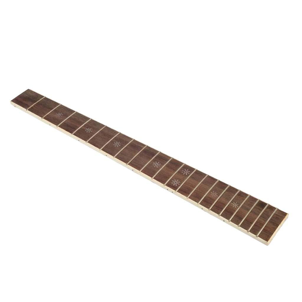 20 Fret Rosewood diapasón de la guitarra diapasón para 41 Inch Acoustic partes de guitarra con nieve Etiqueta