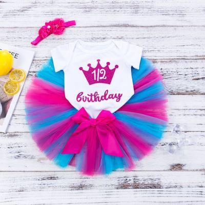 Filles Designer Robes d'été Mode Tutu Dress enfants Explosion robe de bal Robe + combis Ensemble vêtements Bébés filles Robe 2020 Nouveau
