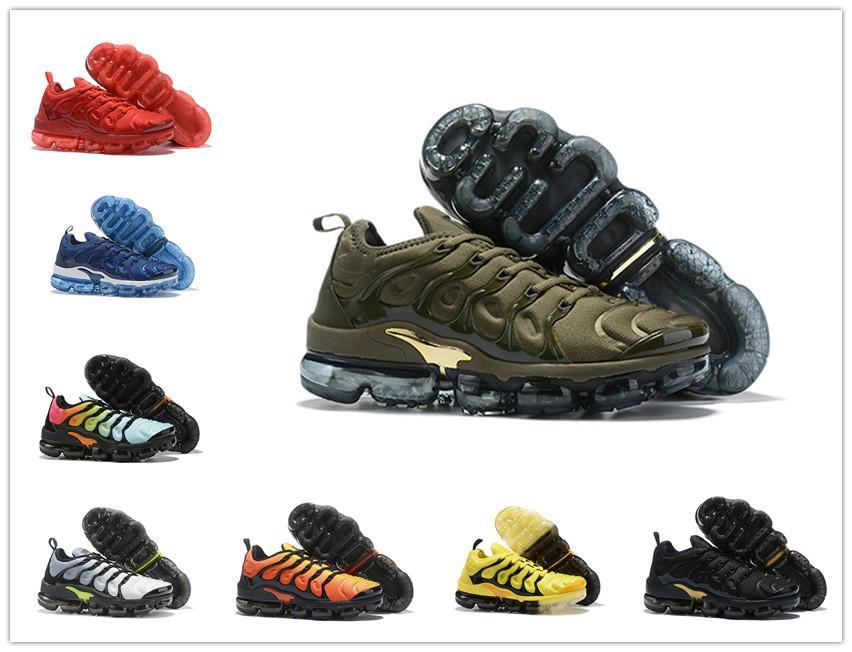 2020 новый воздух Коучинг TN Plus Olive White Silver обувь Мужская обувь для мужской обуви Maxes пакет тройной черный Повседневная обувь Размер 40-45