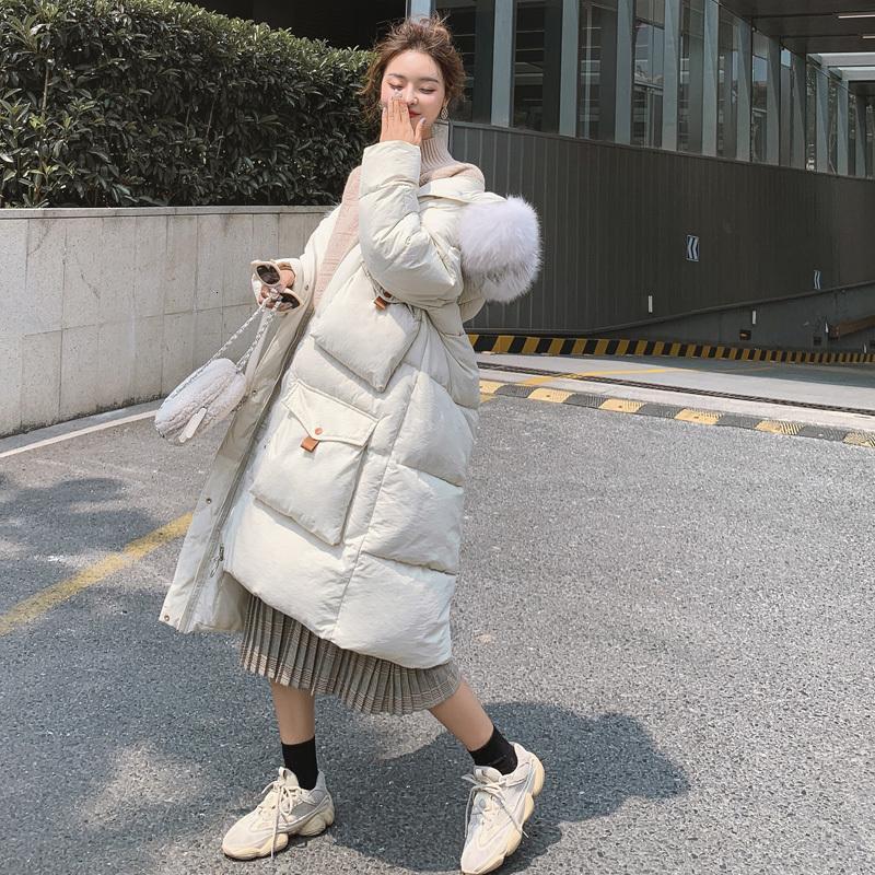 Giù Abbigliamento Donna Torna Stagione Speciali di vendita cotone imbottito Coat allentato 2019 del rivestimento di marea di abbigliamento invernale di cotone imbottito Facile Ins