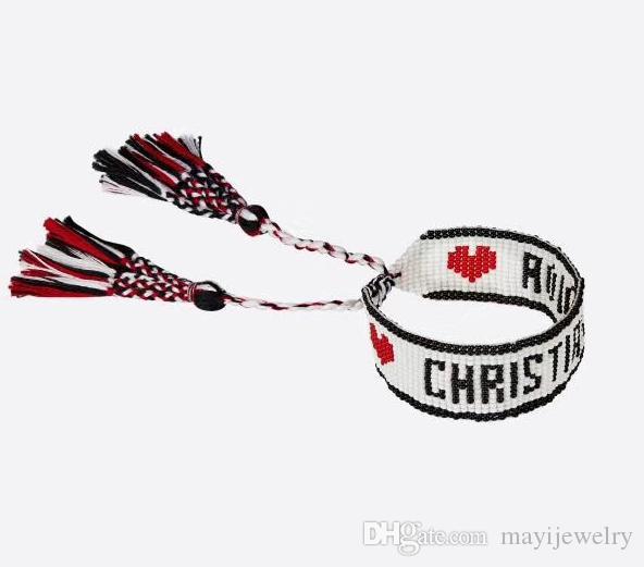 Full Bead Bracelet Site officiel D bracelet Les produits de luxe les plus vendus sont des bijoux classiques pour amoureux cadeau romantique