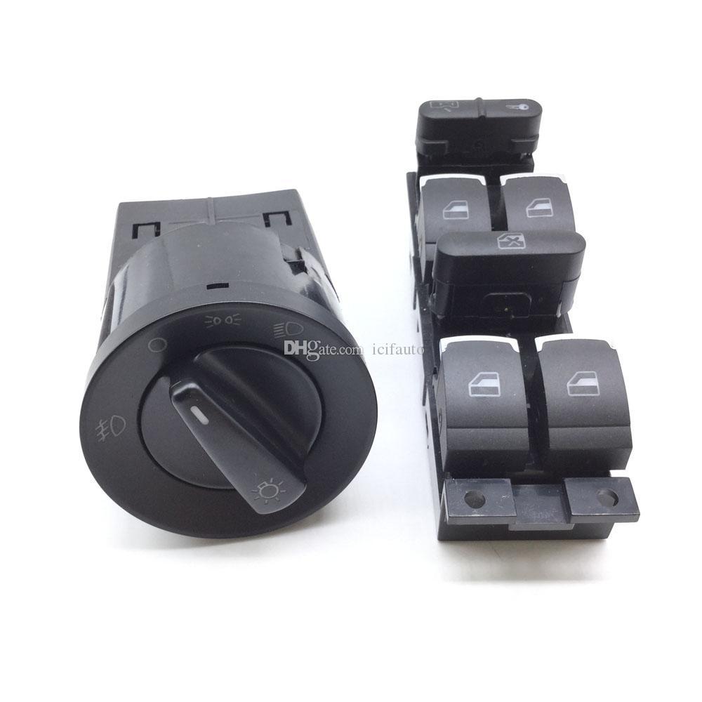ZH-095 Выключатель стеклоподъемника Выключатель фары для VW Volkswagen Bora Golf Jetta MK4 Passat B5 3BD 959 857 1C0 941 531 3BD959857 1C0941531