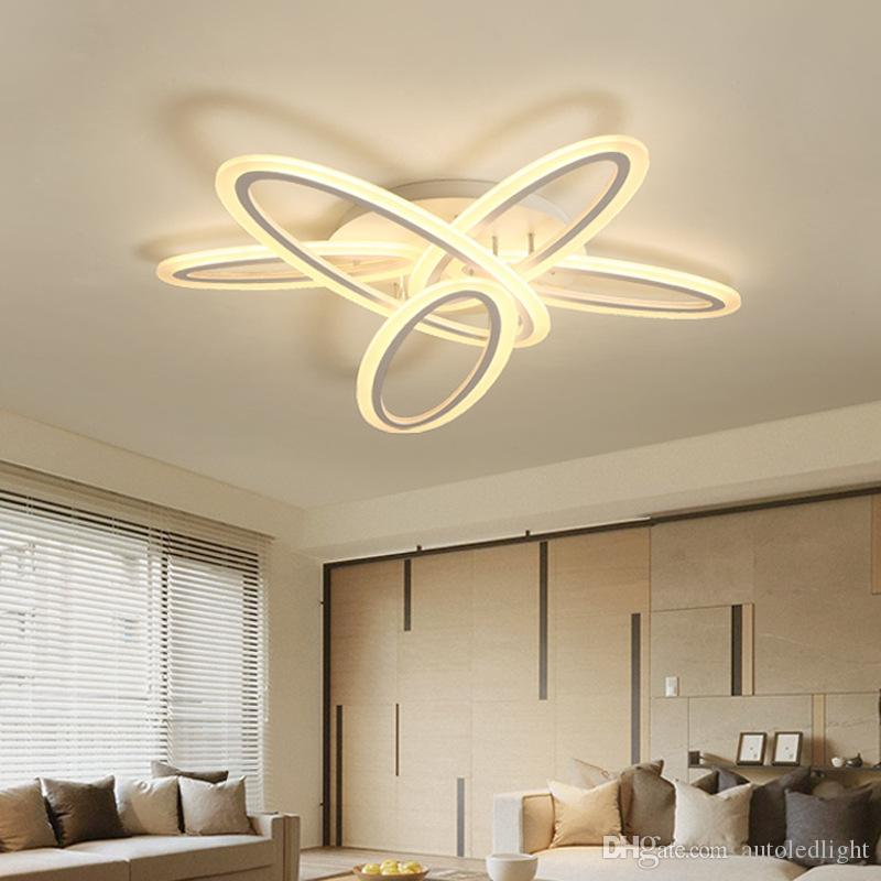 Acrylic LED Ceiling Lights Hotel Chandeliers Lighting Dining Room Pendant Lighting Mordern Creative LED Home Lamp