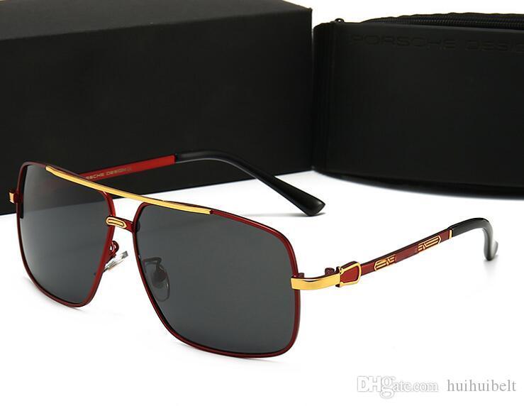 2020 nuovi occhiali da sole di lusso occhiali da sole firmati Glass per la Mens adumbral occhiali UV400 con la scatola marca di alta qualità P 4 colori 8863