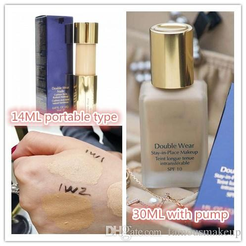 Wholesale lowest price Double Wear Foundation 30ml 2 colors to choose top quality with best price fast free shipping