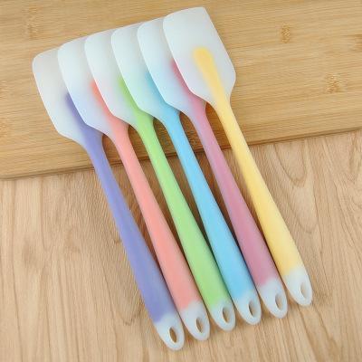 Bake spatula silikon krem Sorunsuz spatula un karıştırıcı tereyağı spatula mutfak pasta pişirme aracı araçlar 21mm