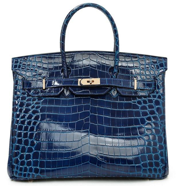 Womens Handbags Ladies Handbags Purse Crocodile Leather Handbag Long Wallets UK