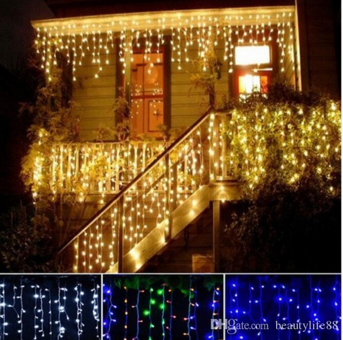 360 LED Indoor Outdoor Snowing Icicle Christmas Xmas Ultra Bright Lights