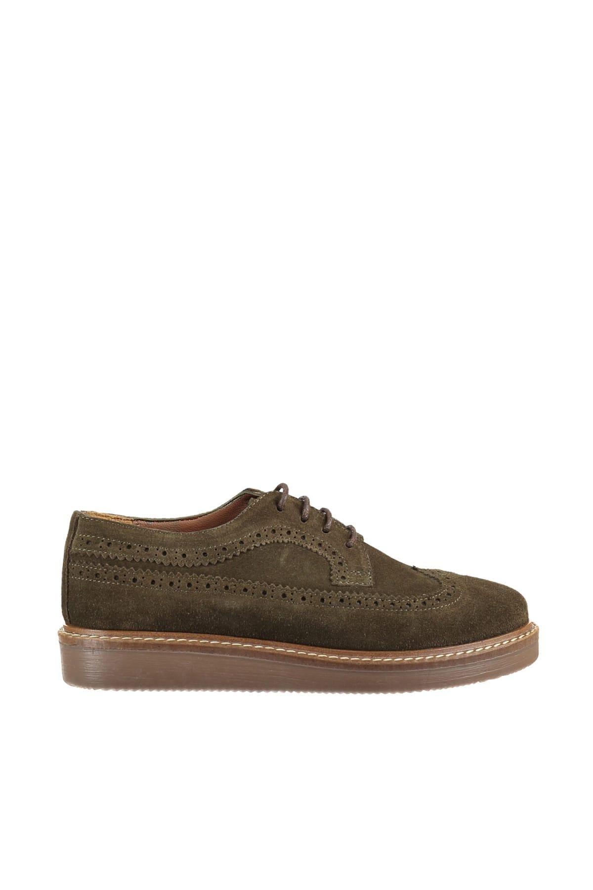 Derimod Khaki das mulheres Sapatos