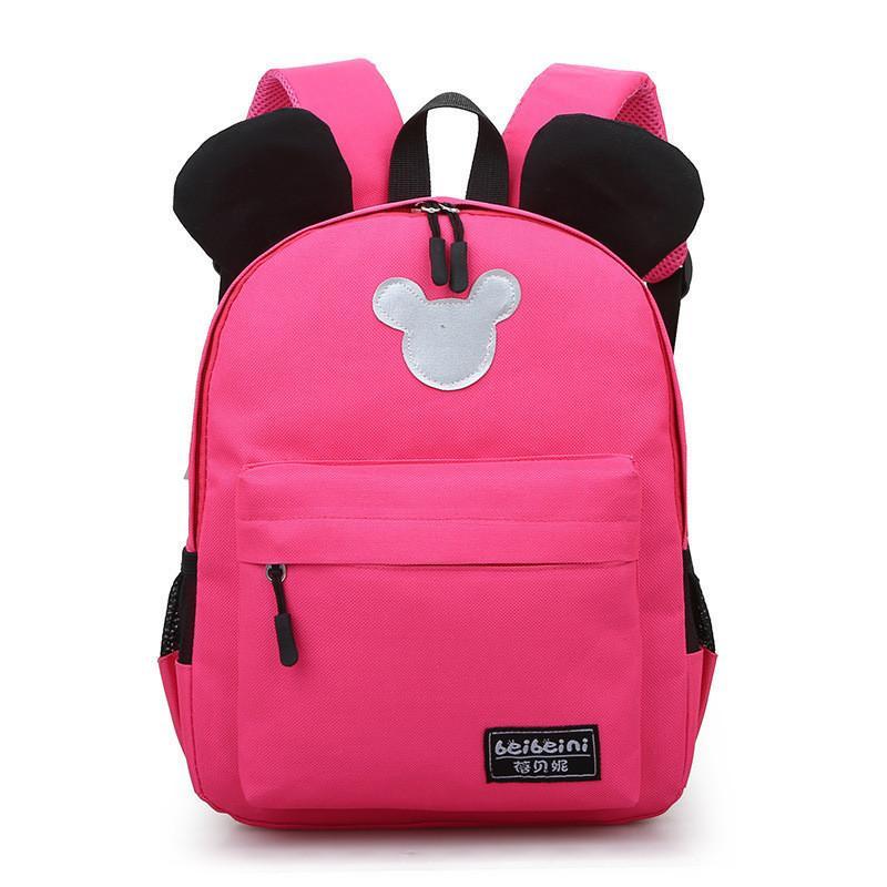 New Arrival 2019 Fashion Cute Kids School Bags Anti-lost Backpack Baby Toddler Book Bag Kindergarten Rucksacks Mochila Escolar J190427