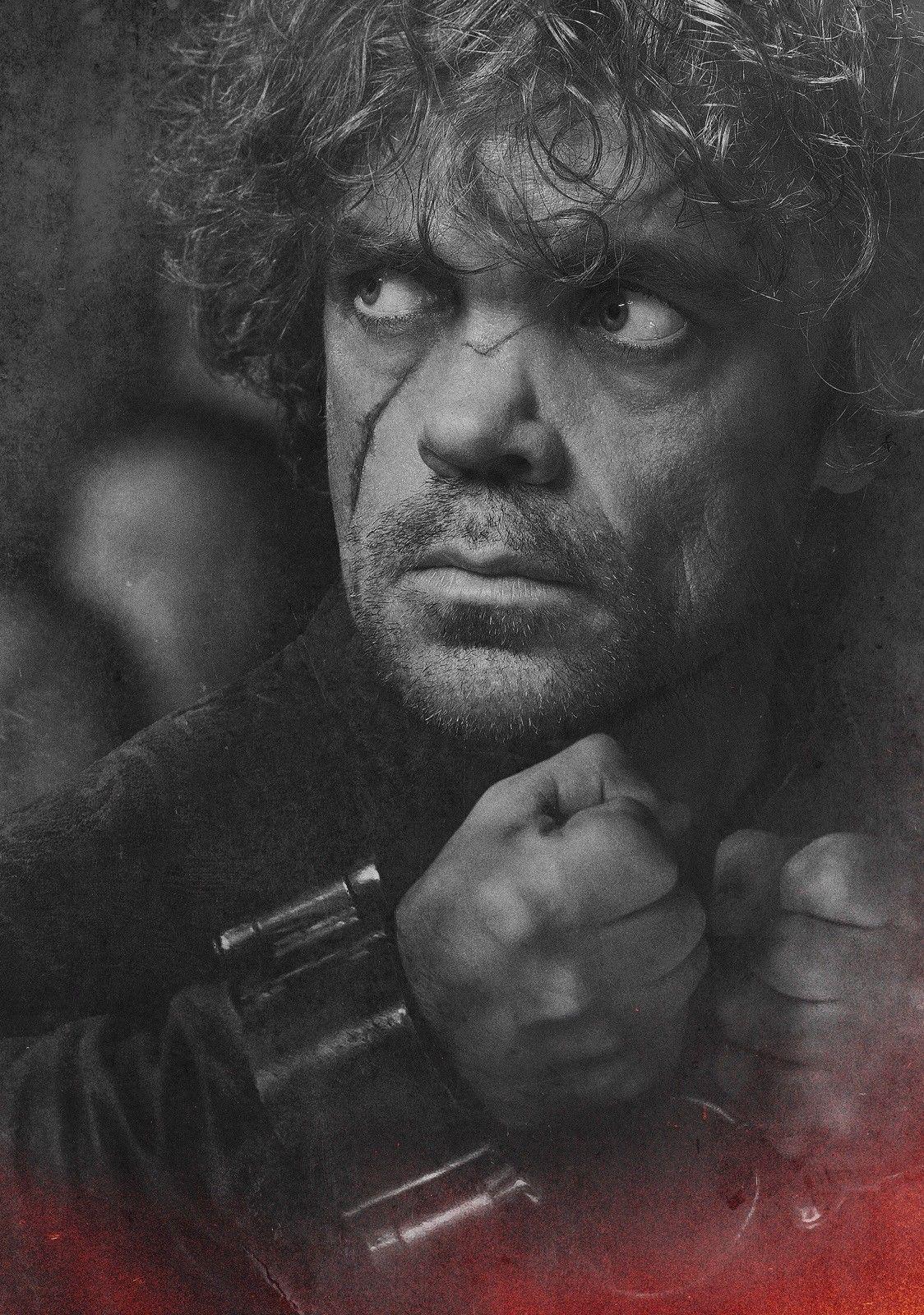 JOGO DE TRONES TV Show Arte Tyrion Lannister Peter Dinklage Art Silk Impressão Cartaz 24x36 polegada (60x90 cm)
