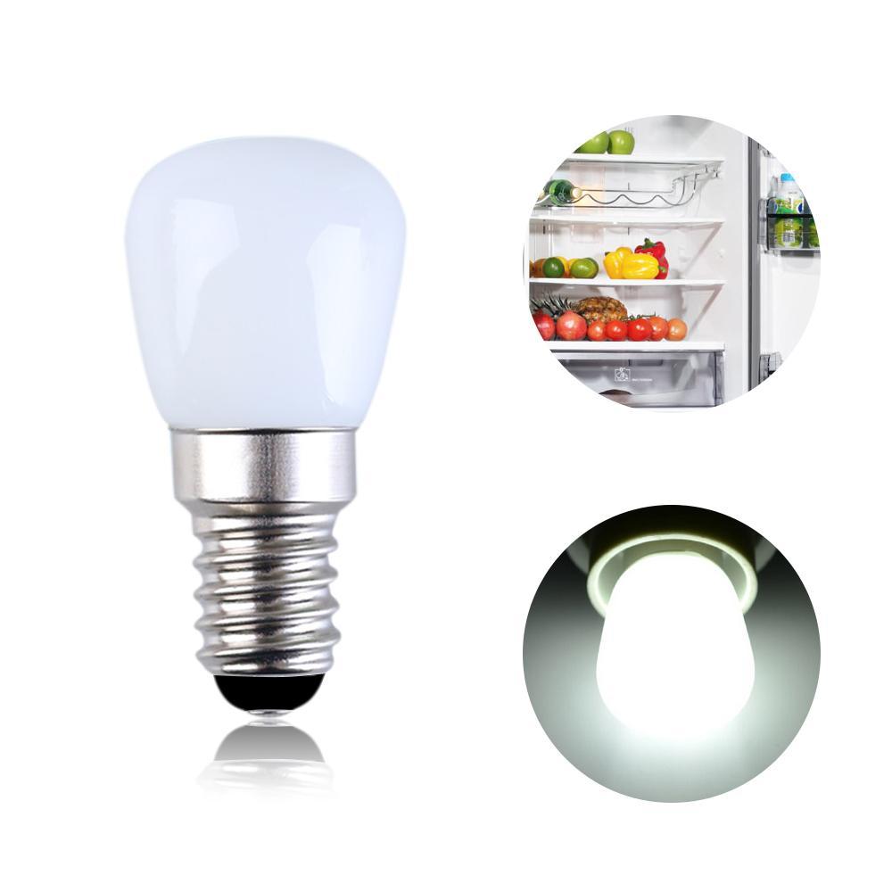 2W 냉장고 LED 조명 미니 전구 AC220V 냉장고 실내 조명 흰색 / 온백색 / 디밍 / 디밍 없음 1 거래 E14 E12