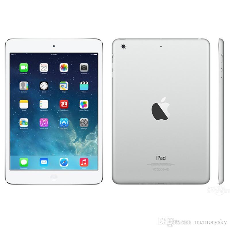 Refurbished iPad mini 2 Apple Unlocked Wifi 16G 32G 64G 128GB 7.9 inch Retina Display IOS A7 Tablet Original Apple DHL