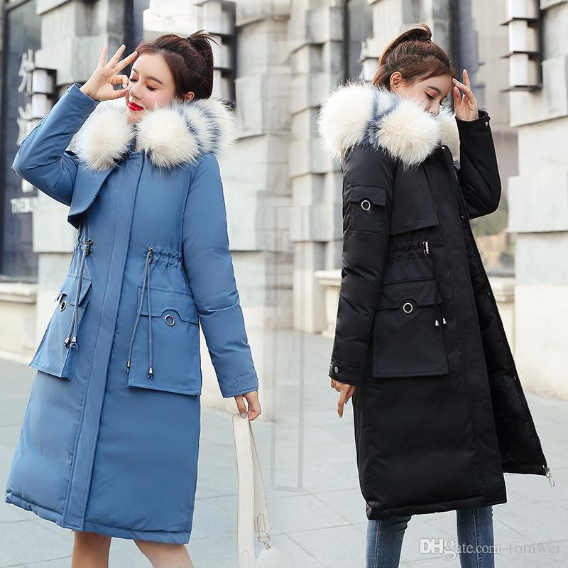 Ladies Blue Parka
