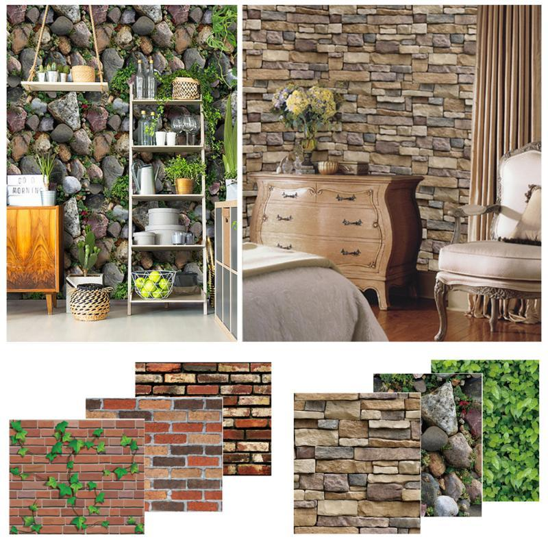 Brick Wallpaper Self Adhesive Removable Wallpaper Brick Peel And Stick Wall Paper For Home Living Room Art Nursery Decals Wall Decals For Nursery Wall Decals For Sale From Wudee 29 24 Dhgate Com