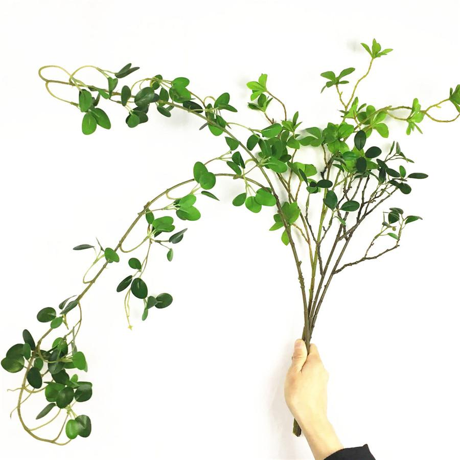 2020 Real Touch Flower Arrangement Fake Plant Leaves Artificial Flowers Wedding Decoration Eucalyptus Ficus Tree Branch Faux Foliage From Copy02 21 22 Dhgate Com
