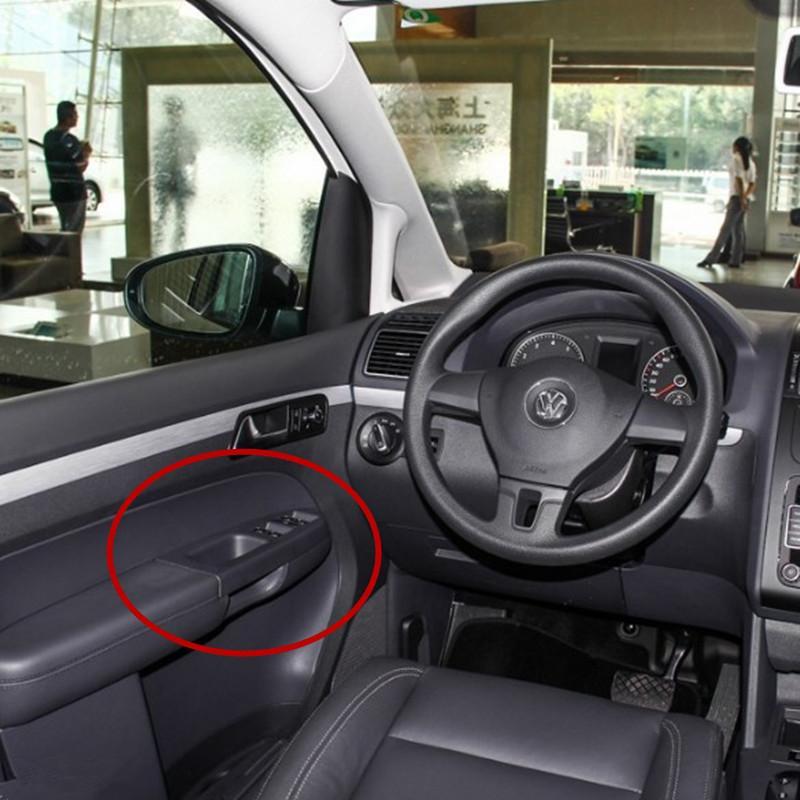 Para panel de control interruptor del elevalunas eléctrico Maestro elevador Bisel accesorios conductor Left Hand 2003-2015 Touran coche puerta interior