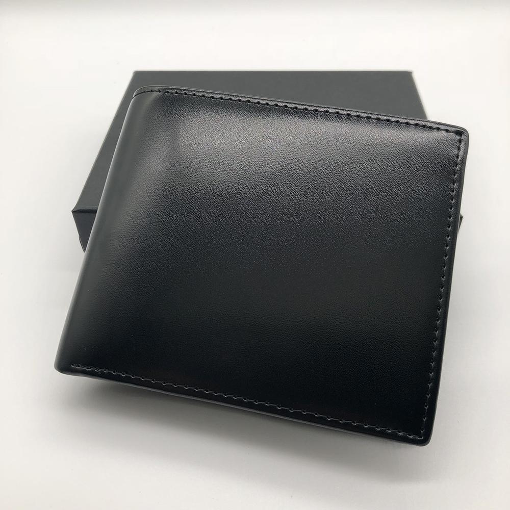 clip de la carpeta de cuero clip corto MT carpeta del diseñador MB cartera de tarjetas de crédito de bolsillo titular de la foto marco de fotos M B Caja de diseñador de los hombres-populares