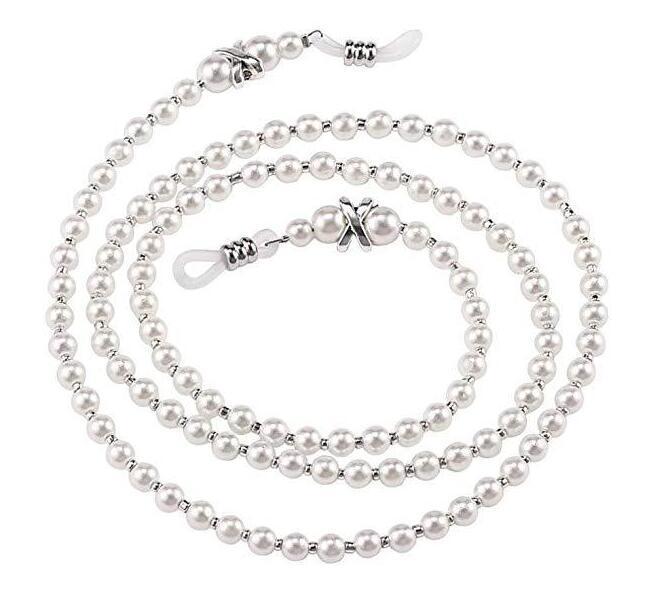 Chaîne chaîne monocle Portable Lunettes Retenue Sunglass cordon Lunettes de lecture Porte-Collier Longe Perle perlés à la main Anti-Délestage Lunettes