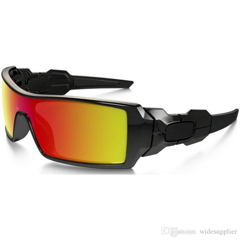 مطبوعة شعبية النظارات الشمسية للرجال والنساء الرياضة في الهواء الطلق أحد زجاج نظارات مصمم النظارات الشمسية أزياء الرجال النظارات