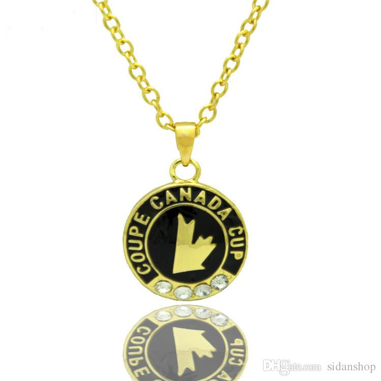 coupe canada cup Charms Collane Pendenti Vintage Charm Hip Hop Pendente Regali Unisex Drop Shipping
