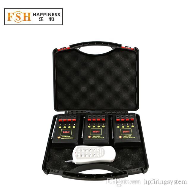 CE / FCC PASSED12 Kanalen Wireless Firing Systemconsumer Fireworks Firing System Bruiloft-apparatuurStage Apparatuur (DB04R-12)