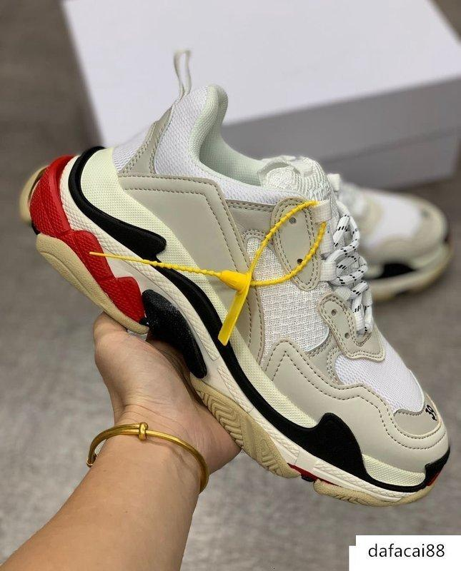 Hot Sale-oes Fashion Casual Shoes Luxury Triple S Trainers Box Included Top Selling Outdoor Shoes On Sale