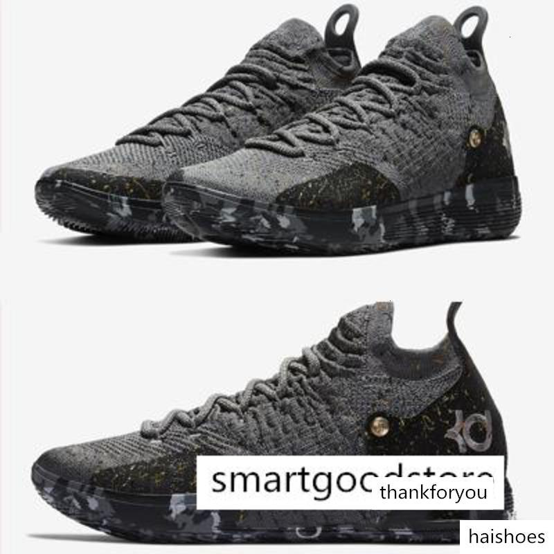 Top Quality Kd 11 Basketball Shoes Gold