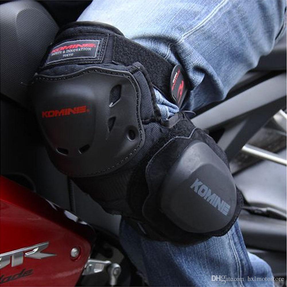 hxlmotostoreMotorcycle joelho pacote Pads Motocross Protector Equipamentos de Proteção Kneepad Moto joelho Leggings proteção Brace Suporte cavaleiro da gota