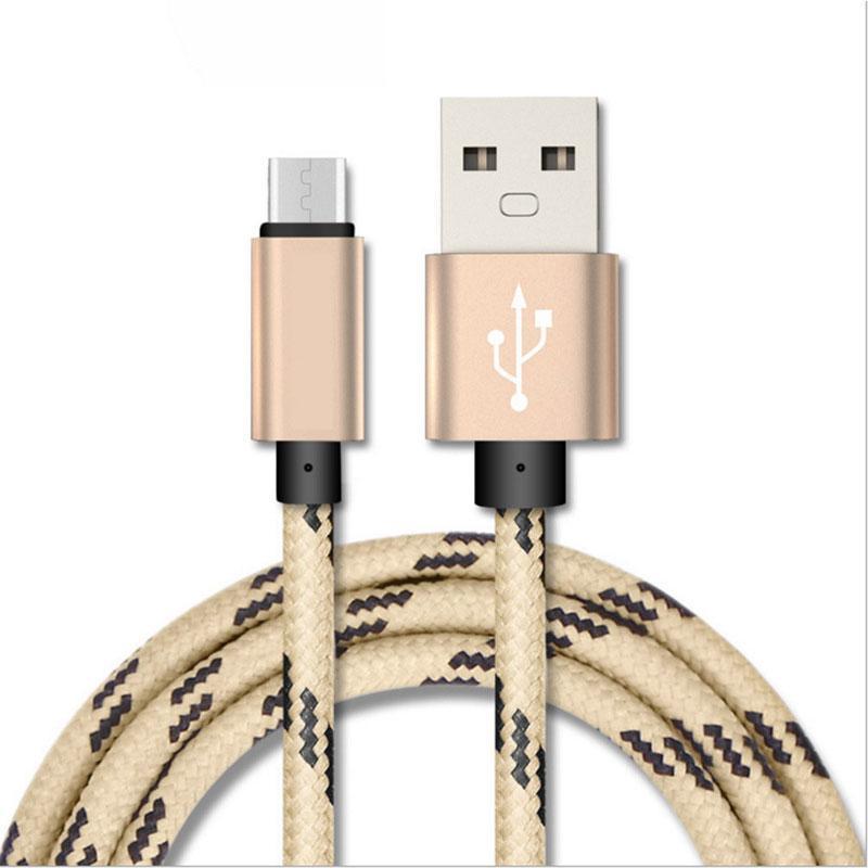 Las acciones de la fábrica de cable de teléfono celular Micro USB Cable Tipo C 1M 2M 3M 3 pies 6 pies 10FT para el cable del cargador de Samsung
