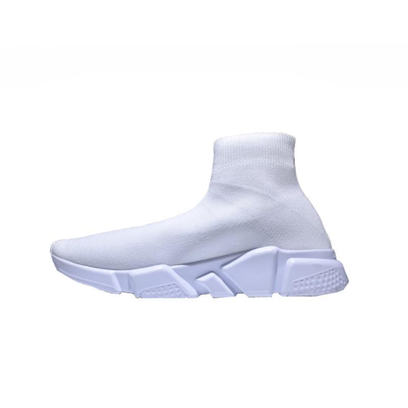 2018 Luxo Shoes velocidade Runner Sock Top Qualidade Triplo Preto Oreo Red planas instrutor Homens Mulheres Calçados Casual sapatos Esporte casuais