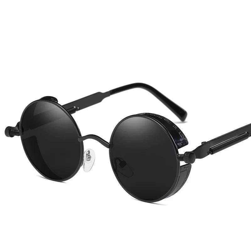 Ausgezeichnete Qualität Mode Sonnenbrillen Halbrand Sonnenbrillen der Frauen der Männer Gold Frame Grün G15 Glaslinsen mit Cases 8825