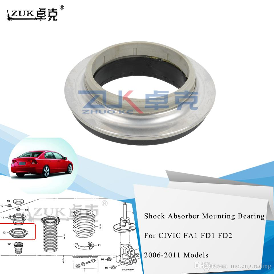 ZUK High Quality Shock Absorber Mounting Bearing For HONDA CIVIC 2006-2011 FA1 FD1 FD2 CIVIC HYBRID 2007-2011 FA3 CIIMO 2012 C14