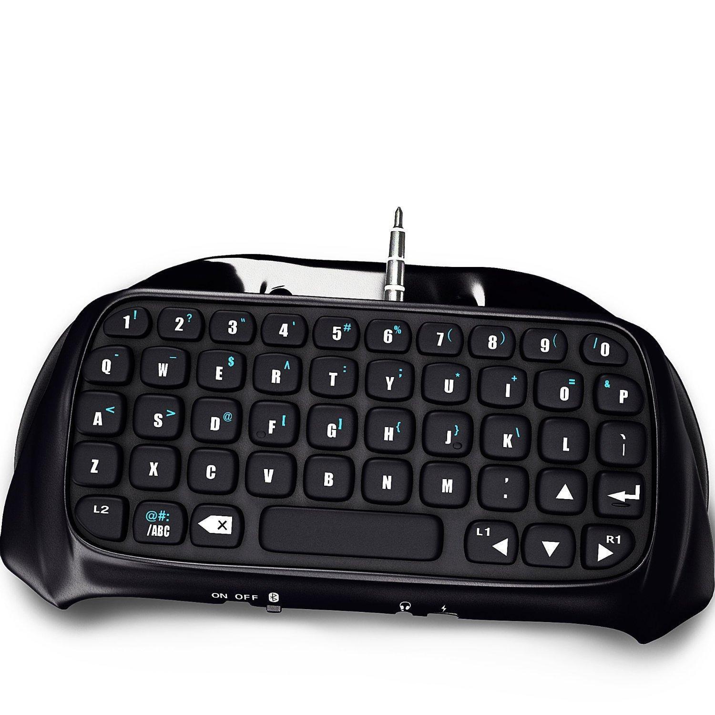 مصغرة لوحة المفاتيح بلوتوث اللاسلكية ألعاب محمول لوحة المفاتيح لوحة الألعاب لسوني بلاي ستيشن 4 PS4 تحكم لعبة