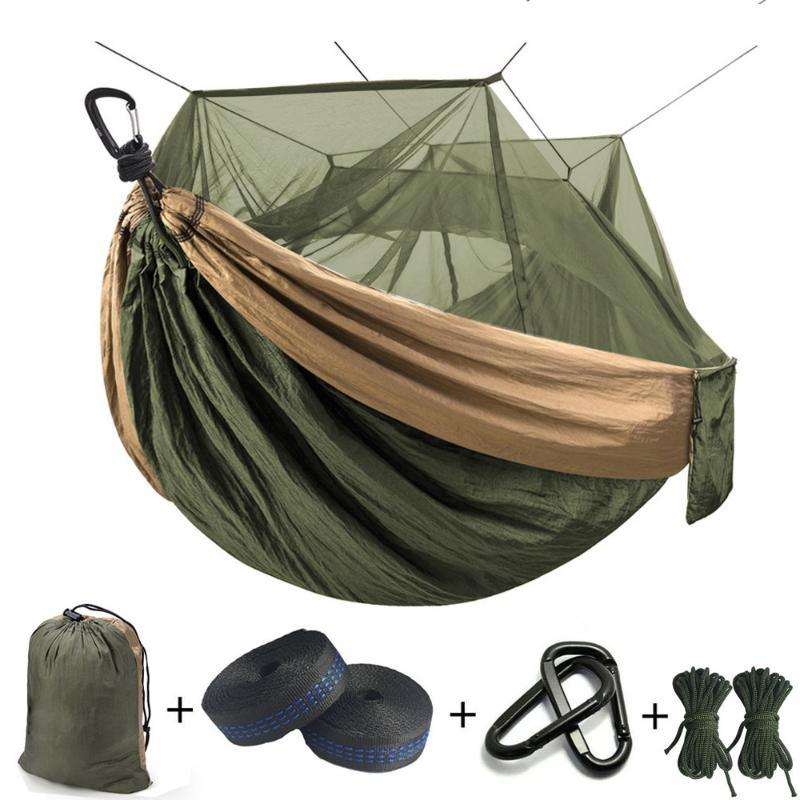 Ultralight Mosquito net Parachute Hammock with Anti-mosquito bites for Outdoor Camping Tent Using sleeping Free shipping