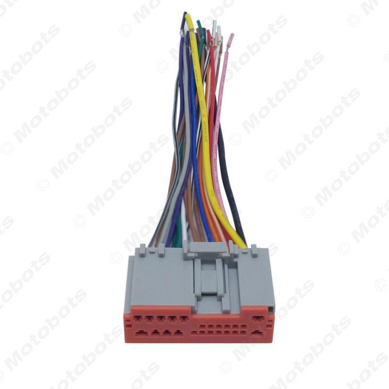 wholesale Car Radio Player Wiring Harness Audio Stereo Wire Adapter for MERCURY Marauder/Mariner/Montego/Monterey #3846