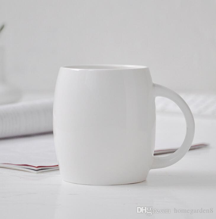 Creative Gift Ceramic Cup Breakfast Cup Promotional Ceramic Cup Gift Office Cups Customizable Logo Coffee Cups