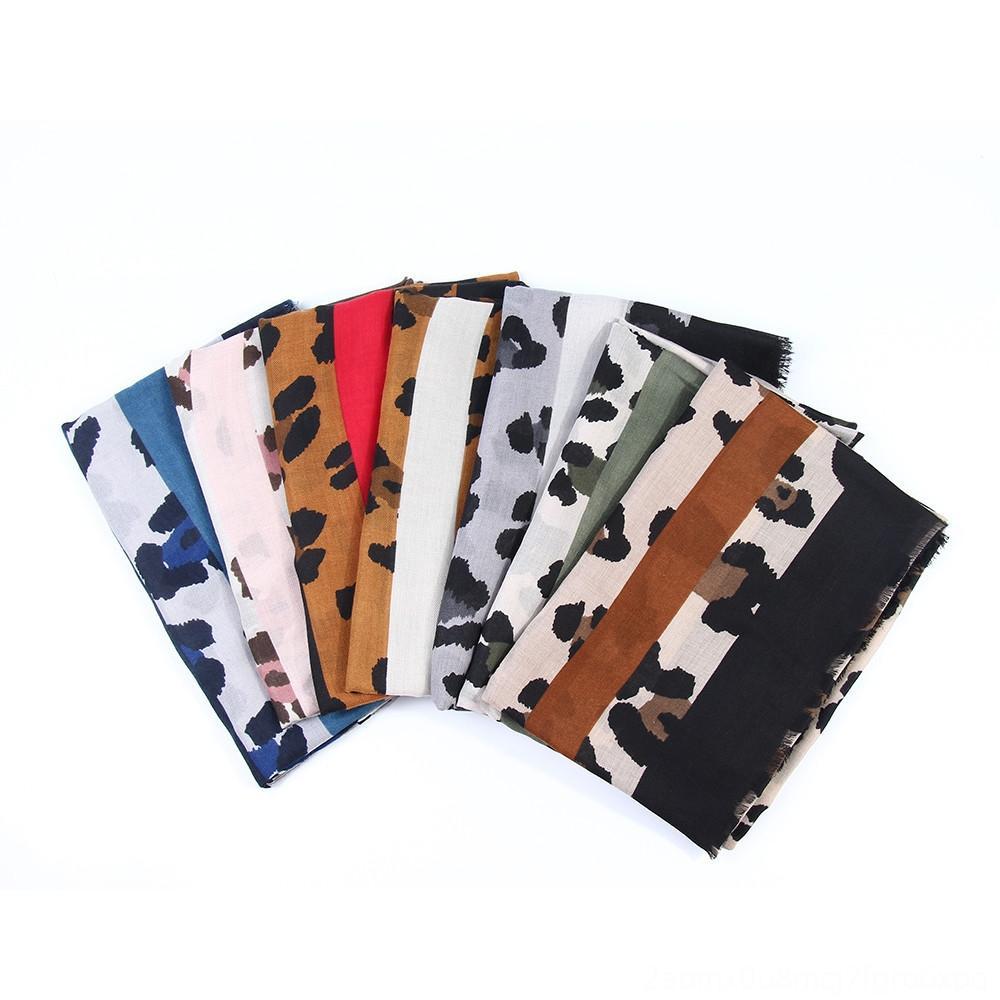 KANCOOLD femme inverno chiffon di seta foulard femme sciarpa delle signore delle donne del leopardo della stampa della fascia dell'involucro della sciarpa degli involucri cappelli, sciarpe morbidi guanti
