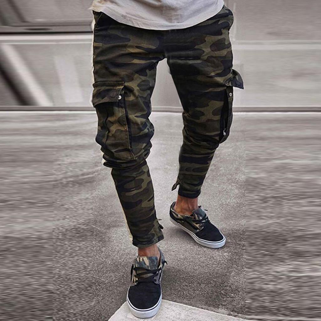 Womail Mens Skinny Stretch denim calças plissadas rasgado Freyed Slim Fit Jeans Calças Moda slim calças de brim à moda Calças