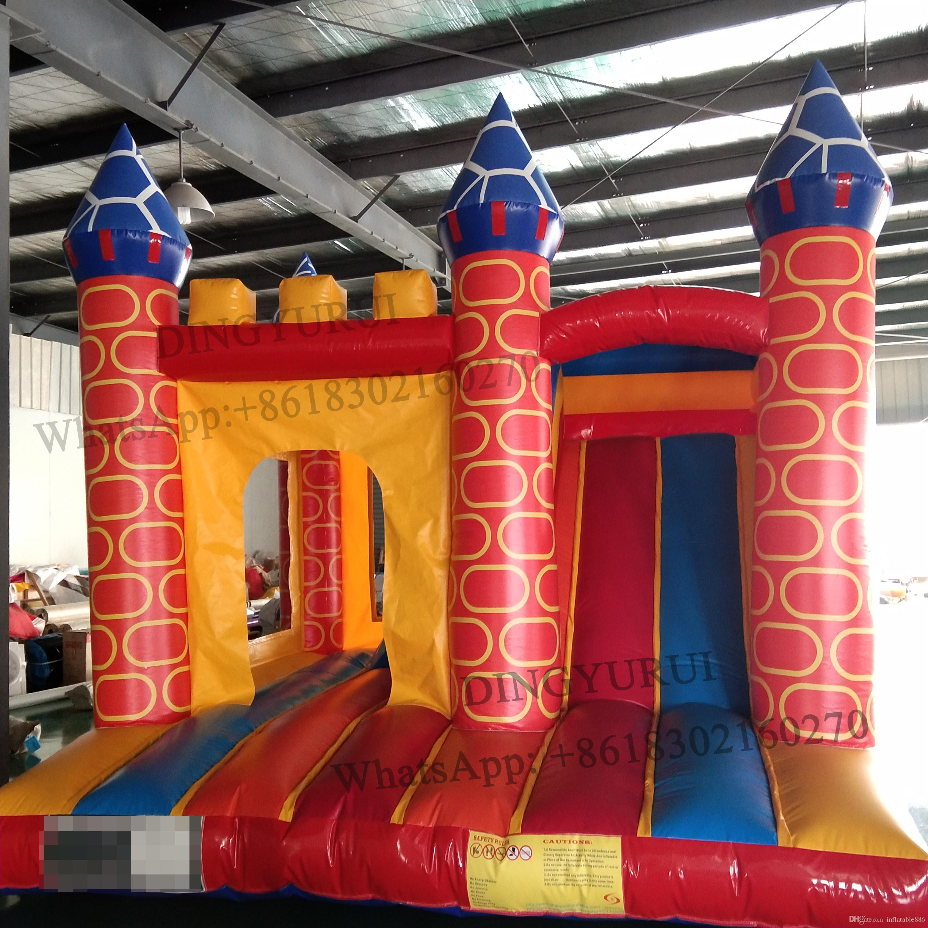 Outdoor Inflatable Jumping House Combo Jumper Bounce House Princess Castle Children Trampoline