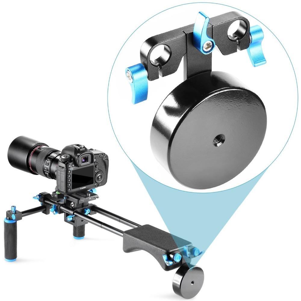 Liga de alumínio de Freeshipping 2,5 lbs / 1.1 kg de peso do contador para equilibrar o estabilizador de montagem do equipamento de ombro se encaixa 15mm rodas