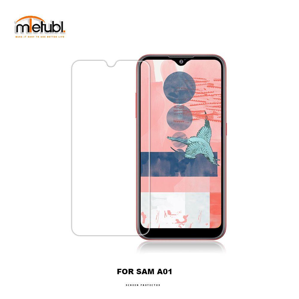 Mobile spannt Glasscheibe für Samsung A40 / A01 / A51 Schirm-Abdeckung Film Papierverpackungen Fabrik niedrigen Preis
