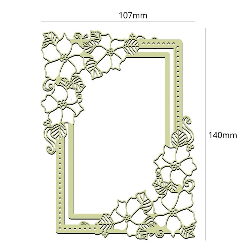 FRAMES photo frame style Brass Stencil card making  scrapbook  embossing NEW